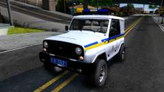 UAZ Hunter Police of Ukraine for GTA San Andreas