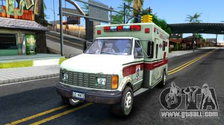 Resident Evil Ambulance for GTA San Andreas