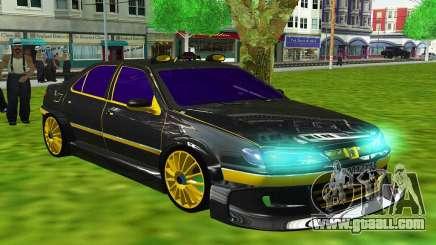 PEUGEOT 406 SLS TAXi 3 for GTA San Andreas