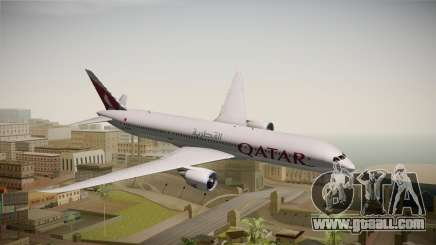 Boeing 787 Qatar Airways for GTA San Andreas