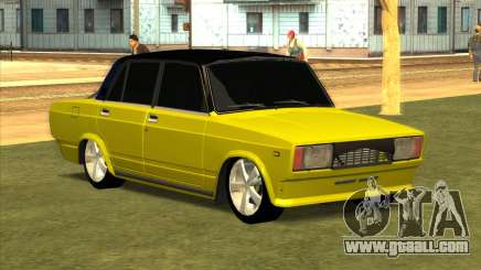 VAZ 2105 Golden Brodyaga Tuned for GTA San Andreas