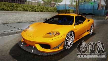 Ferrari 360 Challenge Stradale v3.1 for GTA San Andreas