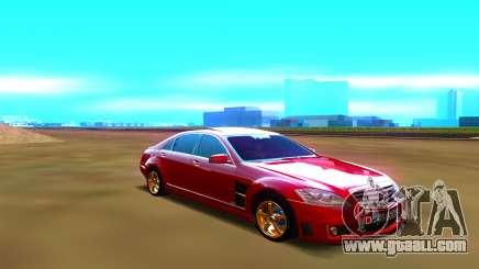 Mercedes-Benz W221 for GTA San Andreas