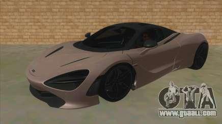 McLaren 720S '17 for GTA San Andreas