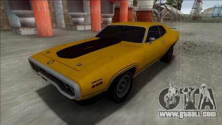 1972 Plymouth GTX for GTA San Andreas