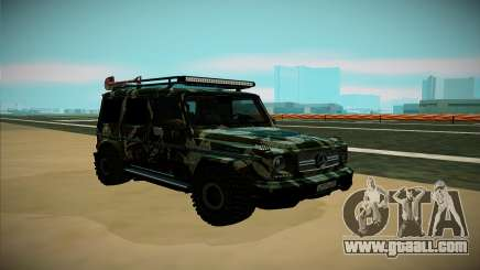 Mercedes-Benz G for GTA San Andreas