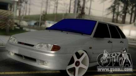 VAZ 2114 Car Audio for GTA San Andreas