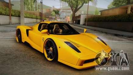Ferrari Enzo Novitec Rosso for GTA San Andreas