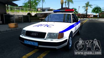 Audi 100 C4 Russian Police for GTA San Andreas