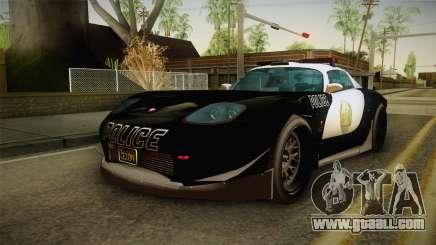 GTA 5 Bravado Banshee Supercop for GTA San Andreas