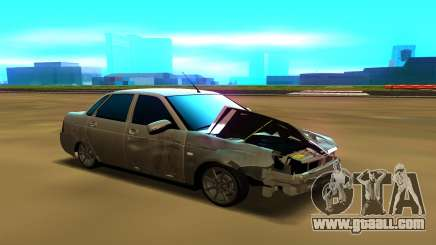 Lada Priora 2170 for GTA San Andreas