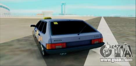 2109 for GTA San Andreas back view