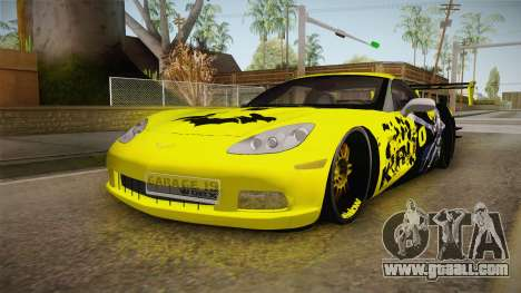 Chevrolet Corvette 2006 Philippines for GTA San Andreas