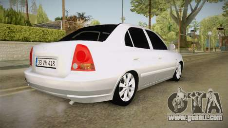 Hyundai Accent GLE for GTA San Andreas