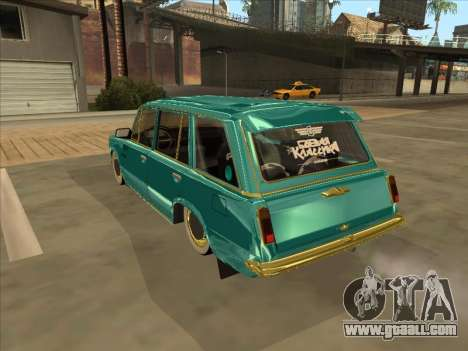 VAZ 2102 Cuban Style for GTA San Andreas back left view