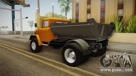 ZIL-130 AMUR for GTA San Andreas left view