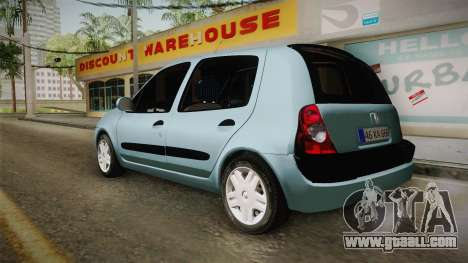 Renault Clio 1.6 16v Hatchback for GTA San Andreas left view