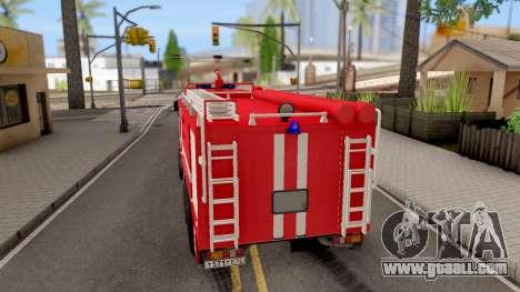 KamAZ-6520 Fire AC-40 for GTA San Andreas