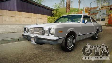 Plymouth Volare Coupe 1977 for GTA San Andreas right view