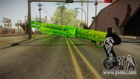 Green Weapon 3 for GTA San Andreas second screenshot
