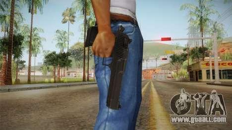 Desert Eagle Black for GTA San Andreas third screenshot