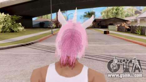 Mask Unicorn for GTA San Andreas third screenshot