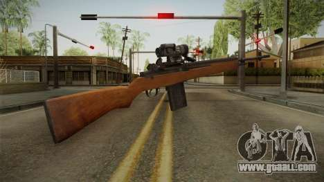 M14 Sniper Rifle for GTA San Andreas second screenshot