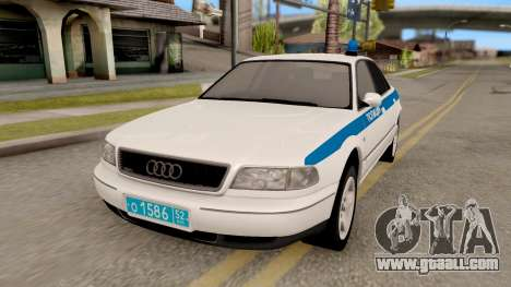 Audi A8 Russian Police for GTA San Andreas