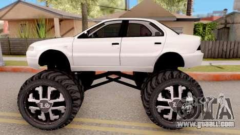 IKCO Samand Soren Monster for GTA San Andreas left view