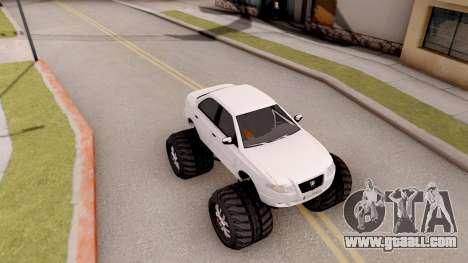 IKCO Samand Soren Monster for GTA San Andreas right view