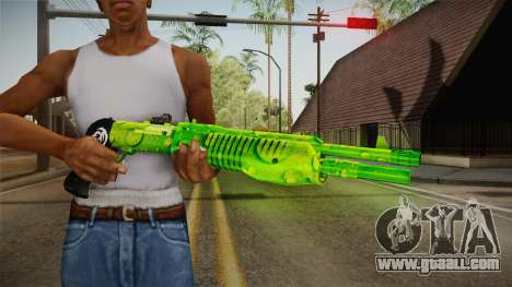 Green Weapon 3 for GTA San Andreas third screenshot