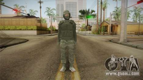 GTA Online: Army Skin for GTA San Andreas second screenshot