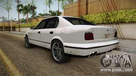 Midnight Club 2 - Schneller V8 IVF for GTA San Andreas back left view