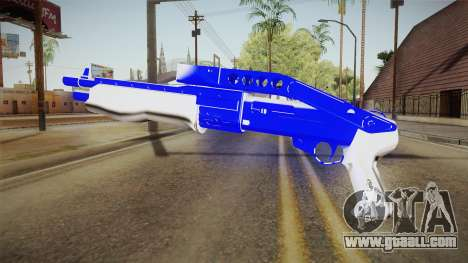 Blue Weapon 3 for GTA San Andreas second screenshot