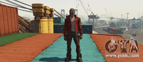 GTA 5 GOTG Star-lord second screenshot