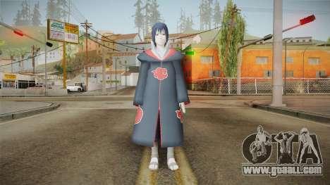 NUNS4 - Sasuke Akatsuki Sharingan for GTA San Andreas second screenshot