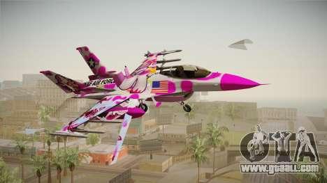 FNAF Air Force Hydra Funtime Foxy for GTA San Andreas
