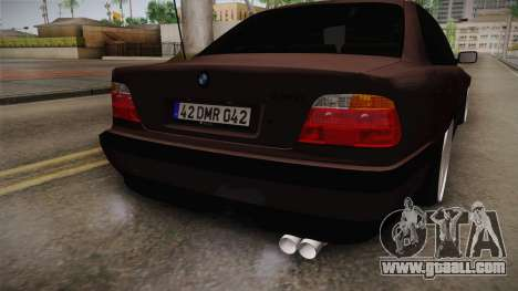BMW 730i E38 Danker for GTA San Andreas side view