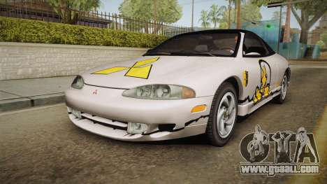 Mitsubishi Eclipse GSX 1995 HQLM for GTA San Andreas engine
