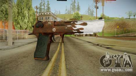 CS:GO - Desert Eagle Corroden for GTA San Andreas