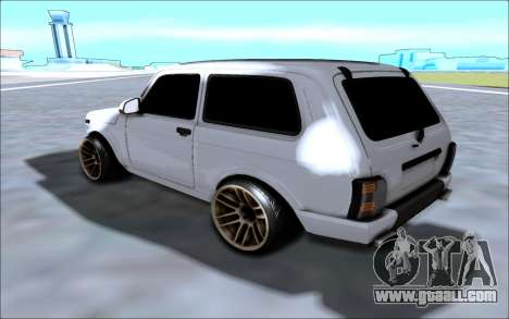 Niva Urban for GTA San Andreas back left view