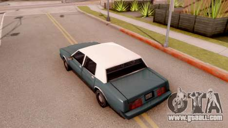 Tahoma Limited Edition for GTA San Andreas back view