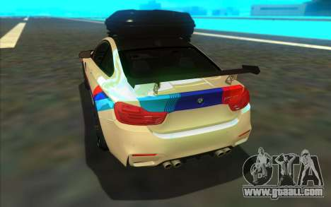 BMW M4 R for GTA San Andreas right view