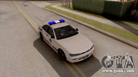 Dinka Chavos Hometown PD 2007 for GTA San Andreas right view