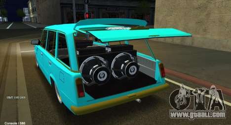VAZ 2102 Cuban Style for GTA San Andreas back view