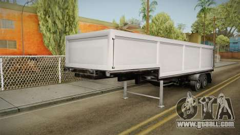 Volvo FH16 660 8x4 Convoy Heavy Weight Trailer 2 for GTA San Andreas