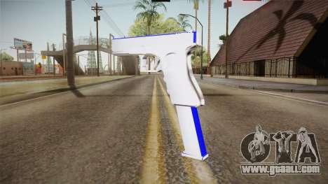 Blue Weapon 1 for GTA San Andreas third screenshot