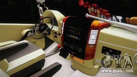 Mercedes-Benz Sprinter v3 for GTA San Andreas inner view
