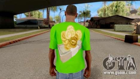 T-Shirt Money for GTA San Andreas third screenshot