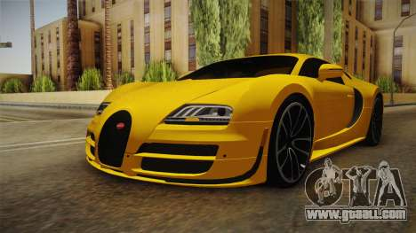 Bugatti Veyron for GTA San Andreas right view